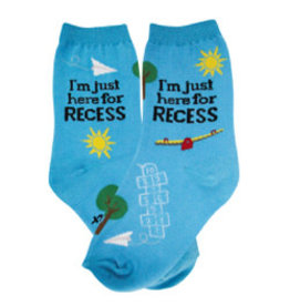 Foot Traffic Kids Recess Socks