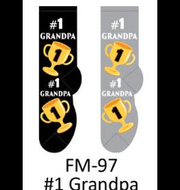 Foozy #1 Grandpa Socks Men