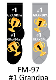 Foozy #1 Grandpa Socks Men by Foozy
