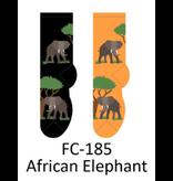 Foozy African Elephant Womens Socks by foozy