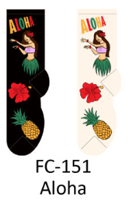 Foozy Aloha Womens Socks by Foozy
