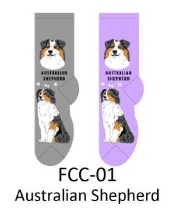Foozy Australian Shepard Socks Women