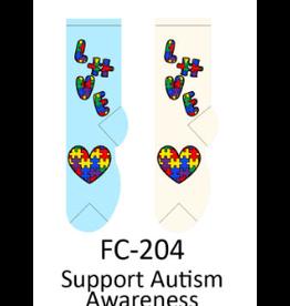 Foozy Autism Awareness Womens Socks