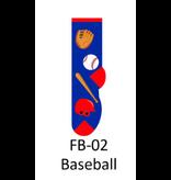Foozy Baseball Kids Socks