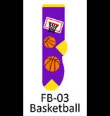 Foozy Basketball  Kids  Socks