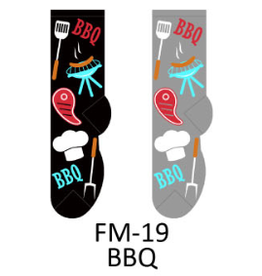 Foozy Barbeque Mens Socks