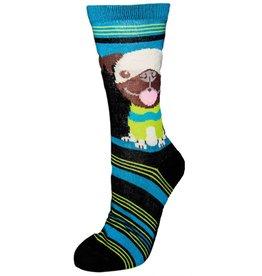 Davco Ladies Puppy Stripe 3/$12