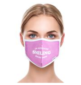 Odd Sox Odd Mask Adult Size - Actually Smiling