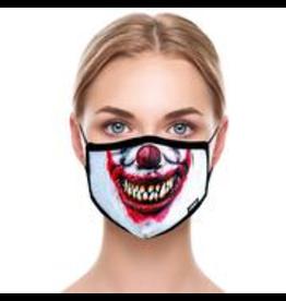 Odd Sox Odd Mask Adult Size - Evil Clown