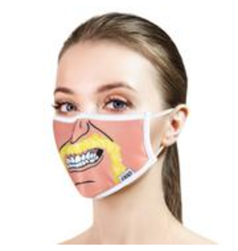 Odd Sox Odd Mask Adult Size - Hulk Hogan Cartoon Face