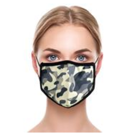 Odd Sox Odd Mask Adult Size - Jungle Camo