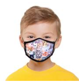 Odd Sox Odd Mask Kids Size - Cats