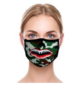 Odd Sox Odd Mask Adult Size - Warplane
