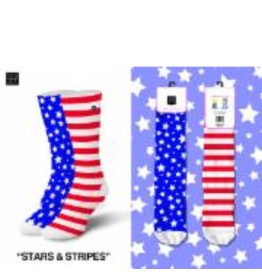 Odd Sox ODD SOX Stars & Stripes Womens Socks