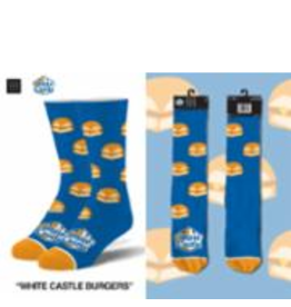 Odd Sox ODD SOX White Castle Burgers Mens Socks