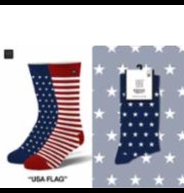 Odd Sox ODD SOX Dress Socks USA Flag Mens Socks
