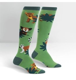 Sock it to Me Madagascar Menagerie Womens Knee High Socks