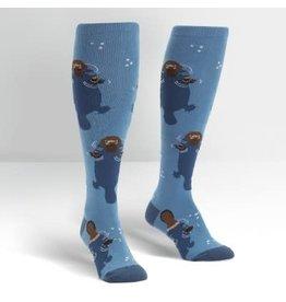 Sock it to Me Platypus Womens Knee High Socks