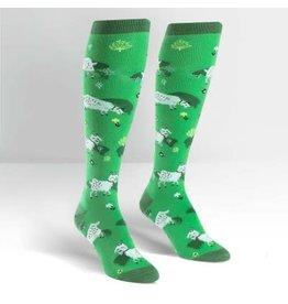 Sock it to Me Fresh Off The Goat  Womens Knee High Socks