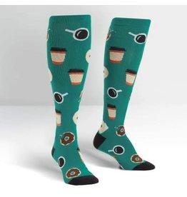 Sock it to Me Coffee Break Womens Knee High Socks