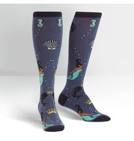Sock it to Me Deep Sea Queen  Womens Knee High Socks