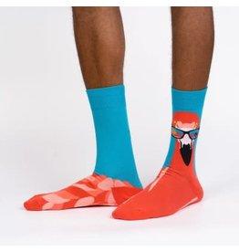 Sock it to Me Ready To Flamingle Mens Socks