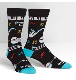 Sock it to Me All That Jazz Mens Socks