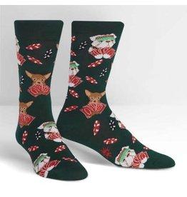 Sock it to Me Ruff Bluff Mens Socks