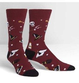 Sock it to Me Spells Trouble Mens Socks