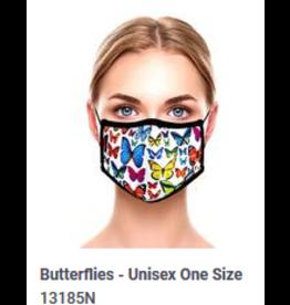 Odd Sox Odd Adult Mask Butterflies