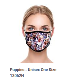 Odd Sox Odd Adult Mask Puppies
