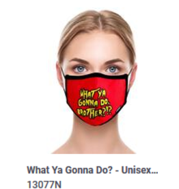 Odd Sox Odd Adult Mask What you Gonna Do?
