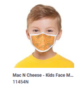 Odd Sox Odd Kids Mask Mac N Cheese