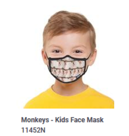 Odd Sox Odd Kids Mask Monkeys