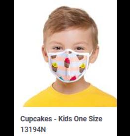 Odd Sox Odd Kids Mask Cupcakes