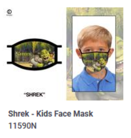 Odd Sox ODD Kid Mask Shrek