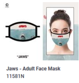 Odd Sox ODD Adult Mask Jaws