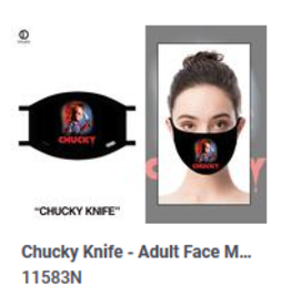 Odd Sox ODD Adult Mask Chucky Knife
