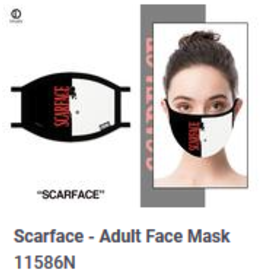 Odd Sox ODD Adult Mask Scarface Godfather
