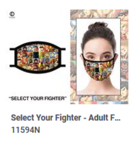 Odd Sox ODD Mask Adult Street Fighter