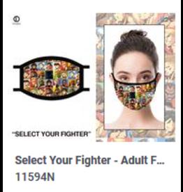 Odd Sox ODD Mask Adult Street Fighter