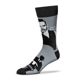 For Bare Feet John Dillinger Historical Mens Socks