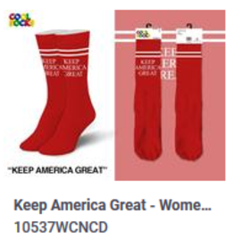 Cool Keep America Great Womens Socks