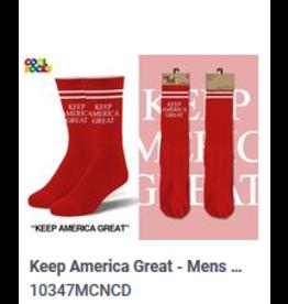 Cool Socks Cool Keep America Great Mens Socks