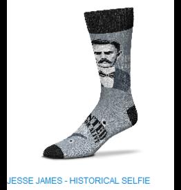 For Bare Feet Jesse James Mens Socks