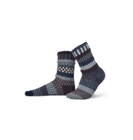 Solmate Solmate Mismatched Mahogany Wool Socks