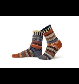 Solmate Solmate Mismatched Nutmeg Socks large