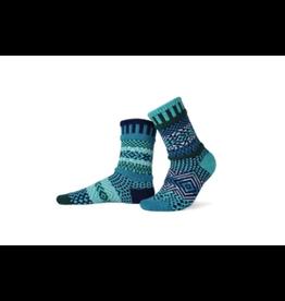 Solmate Solmate Mismatched Evergreen Socks