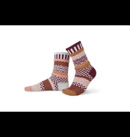 Solmate Solmate Mismatched Amaranth Socks