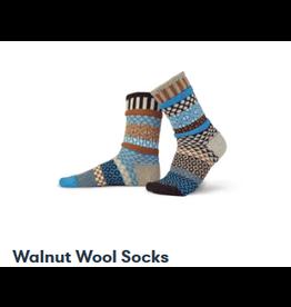 Solmate Solmate Missmatched Walnut Wool Socks